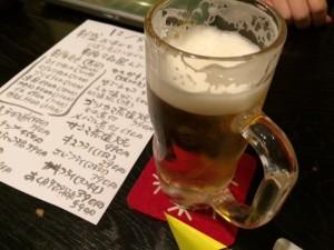 20151208 居酒屋倶楽部常滑本店 ビール