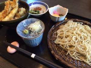 20160211 源 小天丼と二八蕎麦