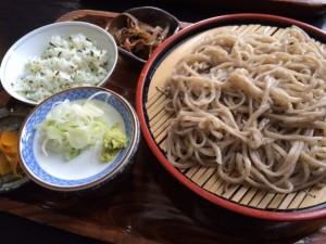 20160112 信濃路ざるそば菜めし